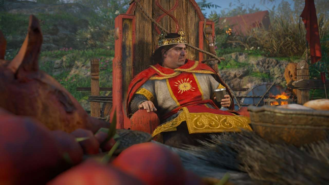 King Charles the Fat in Assassin's Creed Valhalla