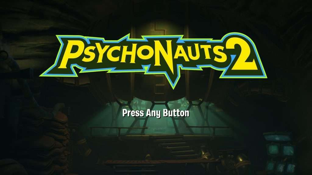 Psychonauts 2 Title Screen